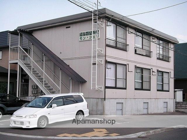 北海道札幌市手稲区、手稲駅JR北海道バスバス12分富丘1条4丁目下車後徒歩2分の築26年 2階建の賃貸アパート