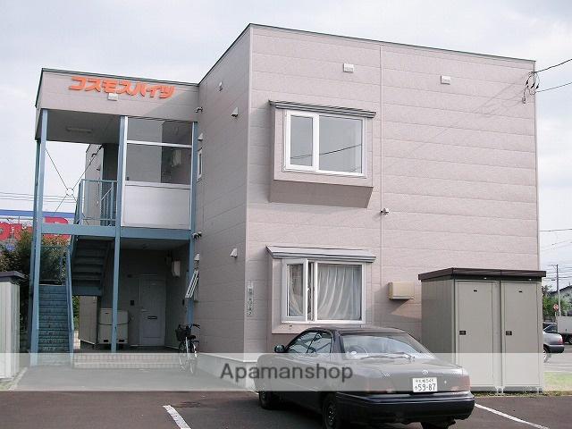 北海道札幌市手稲区の築24年 2階建の賃貸アパート