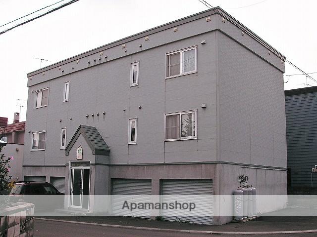 北海道札幌市手稲区、稲積公園駅徒歩5分の築22年 2階建の賃貸アパート