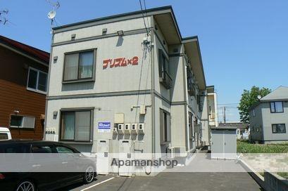 北海道岩見沢市、岩見沢駅徒歩7分の築13年 2階建の賃貸アパート