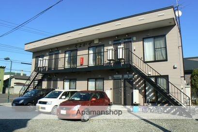 北海道岩見沢市、岩見沢駅徒歩17分の築9年 2階建の賃貸アパート