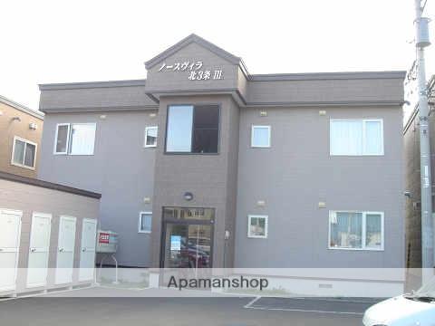 北海道岩見沢市、岩見沢駅徒歩10分の築15年 2階建の賃貸アパート
