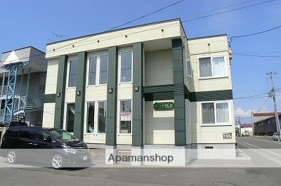北海道岩見沢市の築12年 2階建の賃貸アパート