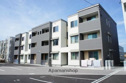 北海道岩見沢市、岩見沢駅徒歩15分の新築 3階建の賃貸アパート