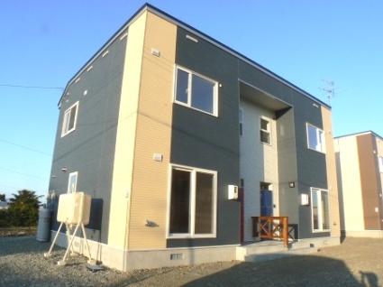 北海道岩見沢市の築8年 2階建の賃貸テラスハウス
