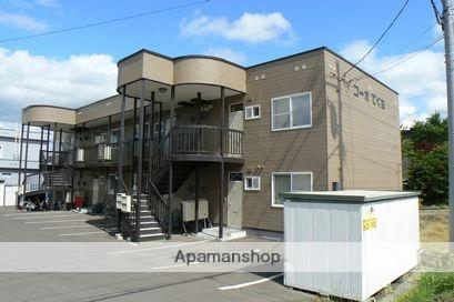 北海道岩見沢市の築29年 2階建の賃貸アパート