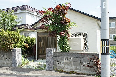 北海道岩見沢市の築53年 1階建の賃貸一戸建て