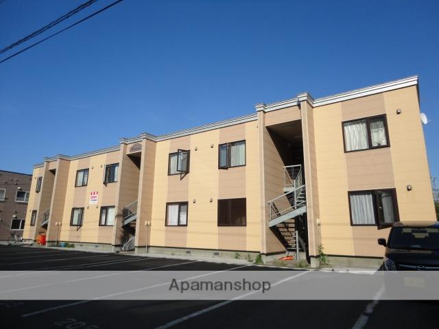 北海道滝川市、滝川駅中央バスバス6分米穀工場前下車後徒歩1分の築10年 2階建の賃貸アパート