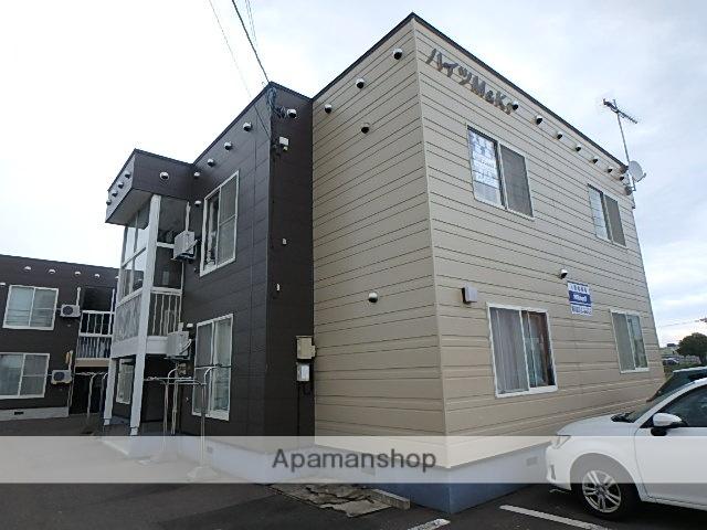 北海道滝川市、滝川駅中央バスバス2分西町下車後徒歩2分の築19年 2階建の賃貸アパート