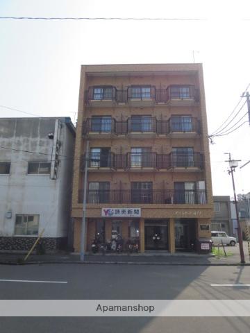 北海道滝川市、滝川駅徒歩4分の築35年 5階建の賃貸マンション