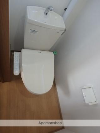 ハイツ原[2DK/39.6m2]のトイレ