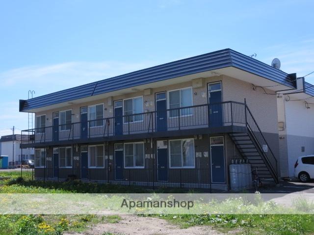 北海道滝川市、滝川駅中央バスバス5分西町下車後徒歩5分の築25年 2階建の賃貸アパート
