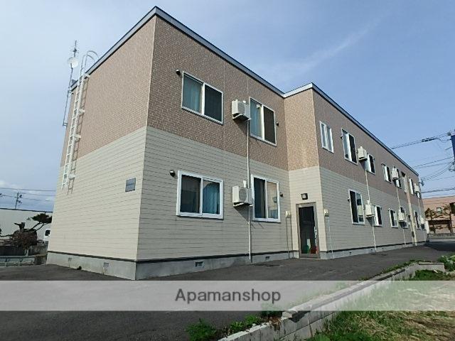 北海道砂川市、砂川駅徒歩10分の築4年 2階建の賃貸アパート