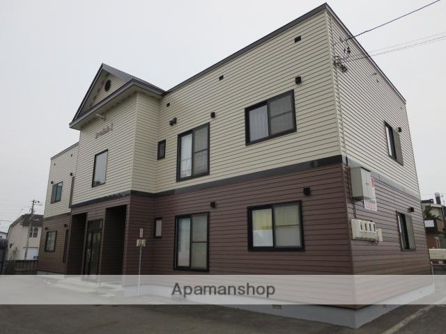 北海道滝川市、滝川駅徒歩5分の築15年 2階建の賃貸アパート