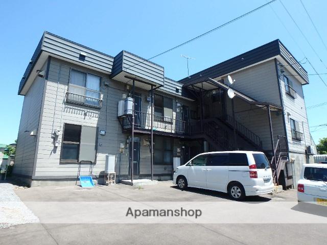 北海道滝川市、滝川駅中央バスバス5分本町局前下車後徒歩7分の築34年 2階建の賃貸アパート
