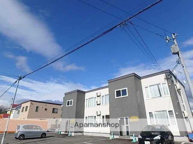 北海道滝川市、滝川駅中央バスバス9分東町7丁目下車後徒歩5分の築9年 2階建の賃貸アパート