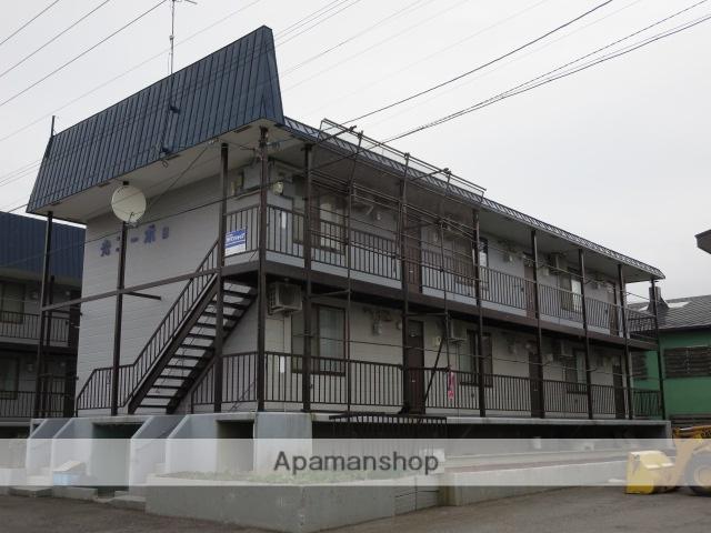 北海道滝川市、滝川駅中央バスバス15分100年記念塔入口下車後徒歩3分の築29年 3階建の賃貸アパート