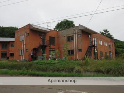 北海道赤平市、茂尻駅徒歩10分の築34年 2階建の賃貸アパート
