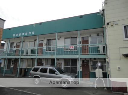 北海道滝川市、滝川駅徒歩5分の築44年 2階建の賃貸アパート