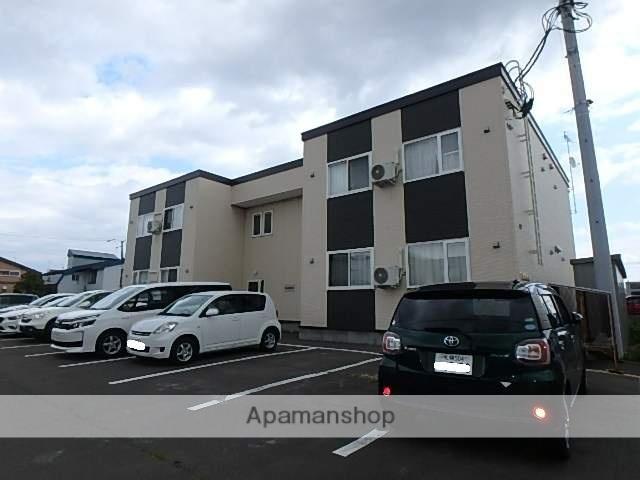 北海道滝川市、滝川駅徒歩5分の築1年 2階建の賃貸アパート