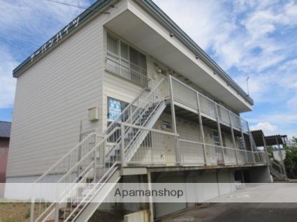 北海道滝川市、滝川駅徒歩10分の築24年 3階建の賃貸アパート