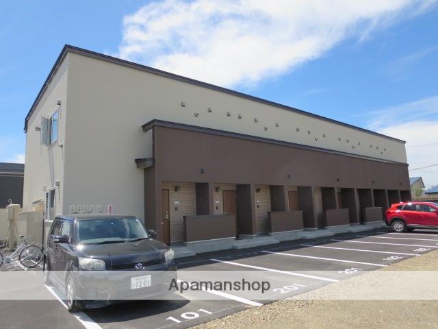 北海道滝川市、滝川駅中央バスバス10分東町団地下車後徒歩3分の築2年 2階建の賃貸アパート
