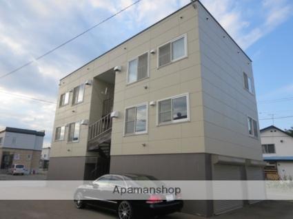 北海道滝川市、滝川駅徒歩15分の築17年 3階建の賃貸アパート
