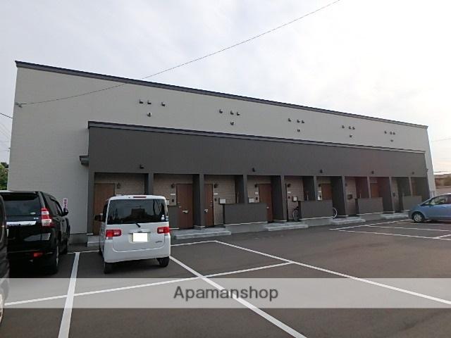 北海道滝川市、滝川駅徒歩30分の新築 2階建の賃貸アパート