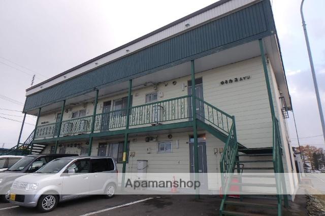 北海道滝川市、滝川駅バス10分中央老人センター前下車後徒歩2分の築43年 2階建の賃貸アパート