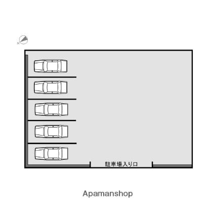 本町2駐車場[駐車場]の間取図
