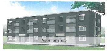 北海道滝川市、滝川駅徒歩10分の新築 3階建の賃貸アパート