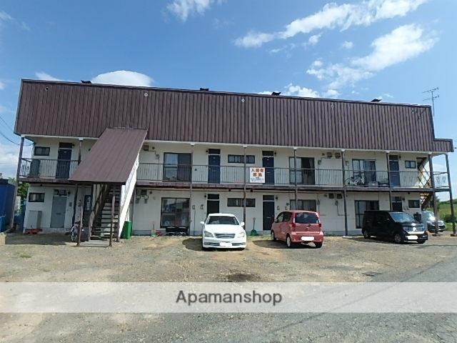 北海道滝川市、滝川駅バス7分西高入口下車後徒歩3分の築37年 2階建の賃貸アパート