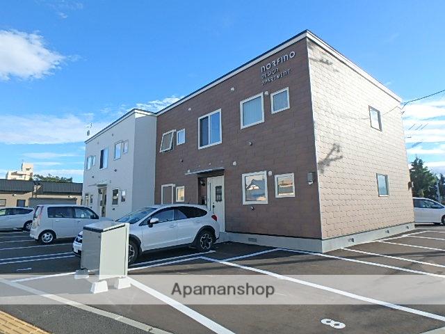 北海道滝川市、滝川駅徒歩3分の新築 2階建の賃貸アパート