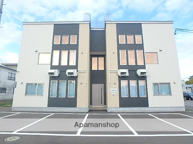 北海道滝川市、滝川駅徒歩10分の新築 2階建の賃貸アパート