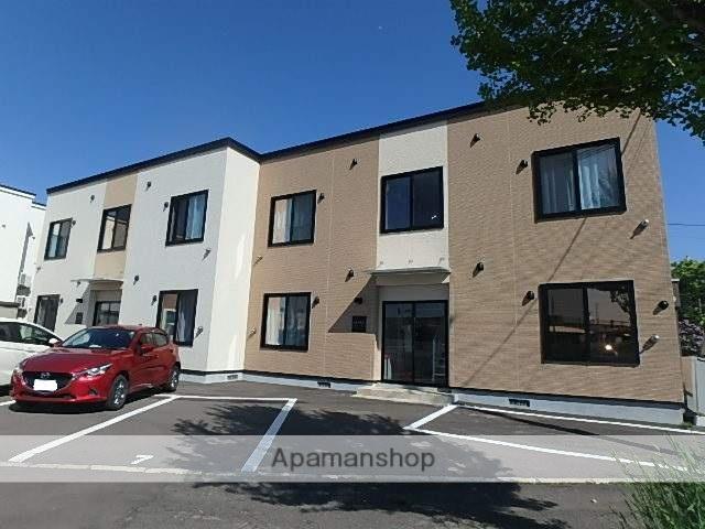 北海道滝川市、滝川駅徒歩2分の新築 2階建の賃貸アパート