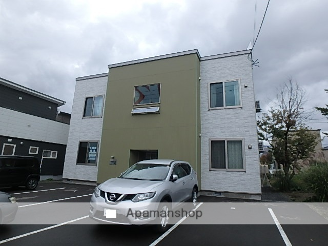 北海道滝川市、滝川駅徒歩20分の新築 2階建の賃貸アパート