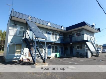 北海道滝川市、滝川駅徒歩16分の築28年 2階建の賃貸アパート