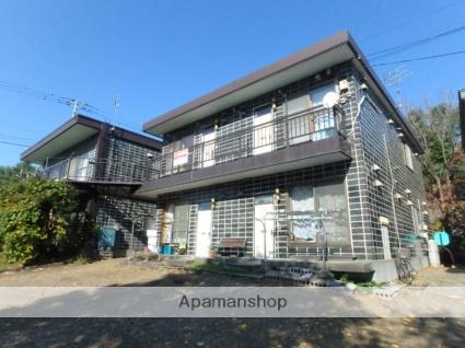 北海道滝川市、滝川駅徒歩19分の築35年 2階建の賃貸アパート