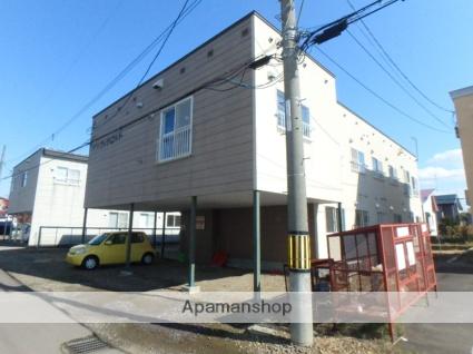 北海道滝川市、滝川駅徒歩32分の築25年 2階建の賃貸アパート