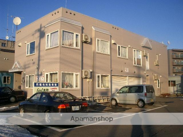 北海道滝川市、滝川駅中央バスバス4分銀座通り下車後徒歩2分の築25年 2階建の賃貸アパート