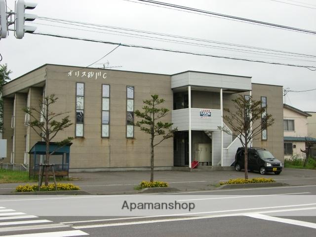 北海道砂川市、砂川駅中央バスバス7分南7丁目下車後徒歩1分の築23年 2階建の賃貸アパート