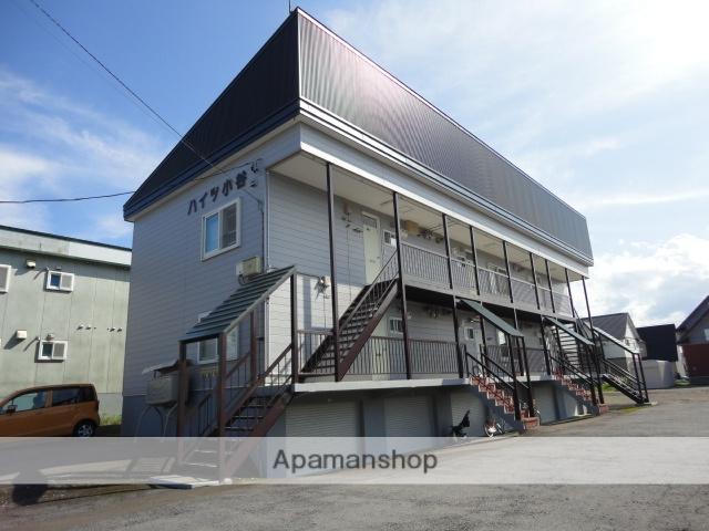 北海道滝川市、滝川駅徒歩4分の築26年 3階建の賃貸アパート