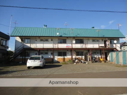 北海道空知郡奈井江町、奈井江駅徒歩6分の築36年 2階建の賃貸アパート