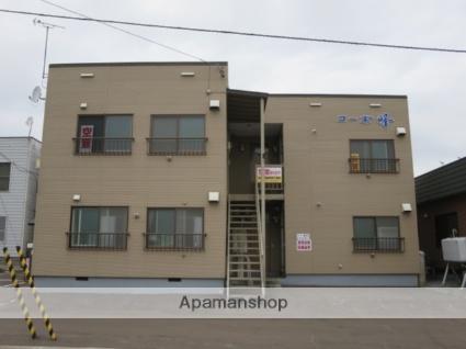 北海道砂川市、砂川駅徒歩5分の築34年 2階建の賃貸アパート