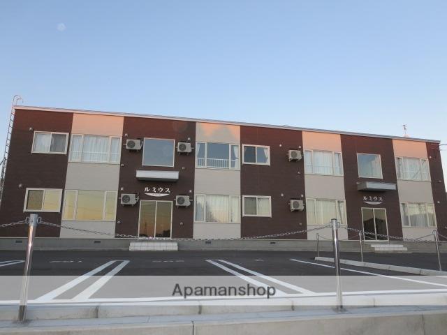 北海道砂川市、砂川駅中央バスバス15分高校前下車後徒歩5分の築4年 2階建の賃貸アパート