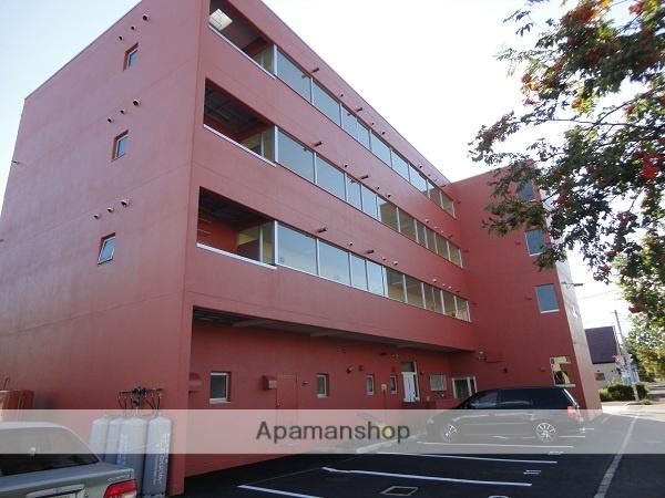 北海道砂川市、砂川駅徒歩3分の築1年 4階建の賃貸アパート