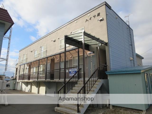 北海道滝川市、滝川駅中央バスバス7分一丁目通り下車後徒歩3分の築26年 3階建の賃貸アパート