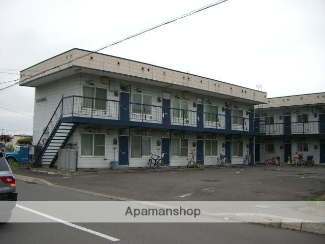 北海道砂川市、砂川駅中央バスバス7分南7丁目下車後徒歩2分の築26年 2階建の賃貸アパート