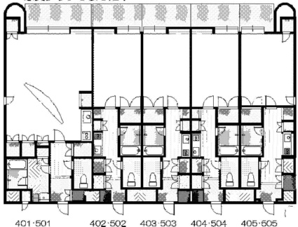 FC南7条[1K/30.72m2]の配置図