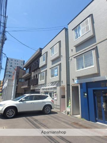 北海道札幌市中央区、円山公園駅徒歩7分の築19年 3階建の賃貸アパート